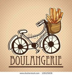 Image result for french baguettes tricycle