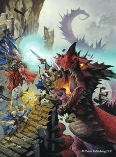 Pathfinder RPG Mythic Adventures cover by Wayne Reynolds won best cover art at the 2014 Gen-Con ENNIE