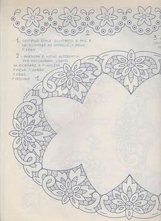 Lene Richelieu and Sheath Open: Riscco center riche Cutwork Embroidery, White Embroidery, Hand Embroidery Designs, Embroidery Stitches, Embroidery Patterns, Machine Embroidery, Lace Painting, Xmas Cross Stitch, Pillowcase Pattern