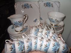 Fine china from Charisma & Cobwebs