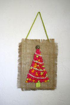 scrumdilly-do!: christmas - tissue paper balls tree.