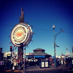 De visita en el Pier 39 de San Francisco