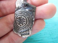 Yoga Lotus Flower Artisan Handcrafted Peace Charm With by CraeVita, $59.00