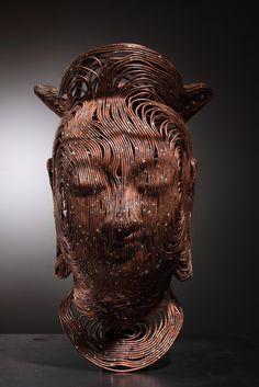 Bangasayusang, 180x180x310(mm), bronze wire,2008