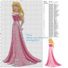 Schema punto croce Principessa Aurora 128x203 49 colori.jpg (3.04 MB) Mai osservato
