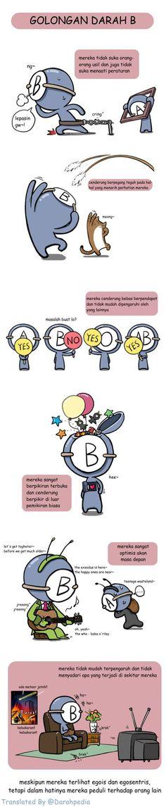 Karakter Golongan Darah B