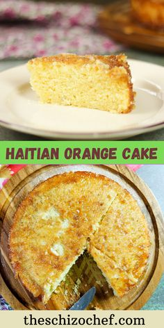 Traditional Haitian Cake – Gateau Ayisyen Zoranj flavored with orange and nutmeg is a versatile cake. It can be eaten simply as a tea time cake or decorate it up fancy for a special occasion. So light and airy. Haitian Cake Recipe, Haitian Food Recipes, Guava Jelly, Mad Scientists, Flavored Milk, Caribbean Recipes, Cake Boss, Tea Cakes, Marathon