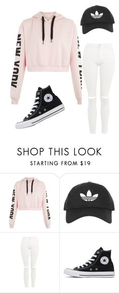 """Untitled #36"" by cherrytaco on Polyvore featuring Topshop and Converse"