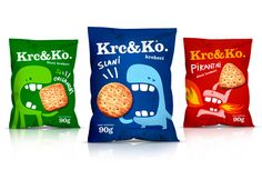 Packaging pour Krc & Ko (Crunch& Co