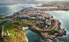 La Coruña, Galicia, Spain, where I lived once upon a time. Vincent Spano, Places To Travel, Places To See, Travel Destinations, Magic Places, Places In Spain, Ibiza, Basque Country, Spain And Portugal