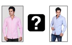 Pink or Blue? Casual and at the same time classy. Which one would you flaunt?