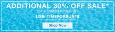 Extra 30% Off Sale Items at SwimSpot - Extra 30% Off