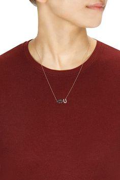 Kiss U necklace by Aamaya by Priyanka. Shop now: www.perniaspopups.... #necklace #designer #aamayabypriyanka #pretty #jewellery #shopnow #perniaspopupshop #happyshopping