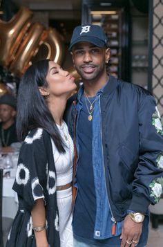 """jhenefuru: """"March 28: Big Sean and Jhene Aiko a """""""
