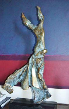 "Salvador Dali ""Terpsichore: Muse of #Dance"" bronze, edition of 19. #Sculpture"