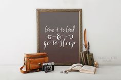 Instant Give it to God print Printable by HeartOfLifeDesign