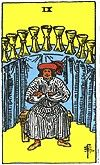 nine of cups After the difficult choices of the Seven and the stagnation of the Eight, the Cups suit starts to balance out with the Nine. One of the most positive and uplifting cards of the entire deck, the Nine of Cups shows satisfaction on all levels -emotional, physical, sensual. It is little wonder that most Tarot readers refer to this as the Wish Card, and its appearance is often taken as a sign that, whatever your heart's desire is, it shall be granted in the coming days. It may not…