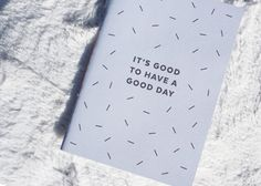 It's good to have a good day - Motivational notebooks that will inspire you // The PumpUp Blog
