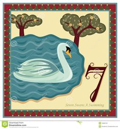 7 Swans a swimming - 7 Gifts of Romans 12 - The 12 Days Of Christmas