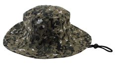 Jemis Men's Boonie Hat Bucket Hat (safari camo) at Amazon Men's Clothing store: