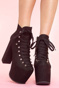 hellbound platform boot by unif.