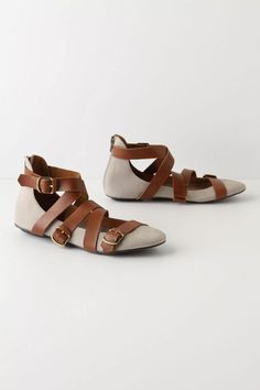 Bands & Buckles Flats, Anthropologie. $128.00