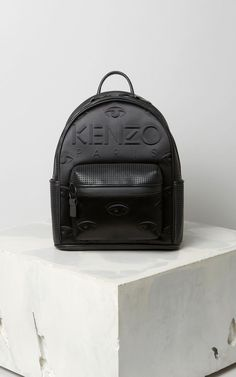 2e1ef05e19a5 BLACK Kombo backpack for women KENZO