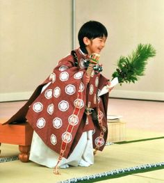Prince and Princess Akishino believe that to become a symbol of the state in the future, it would be a valuable experience for the little prince to study with children from various backgrounds and be in touch with the feelings of common people. Japanese Textiles, Japanese Kimono, Geisha, Samurai, Precious Children, The Little Prince, Japanese Outfits, Prince And Princess, Japanese Culture