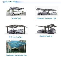 Carport Amp Solar Panel Structure Cantilevered Steel