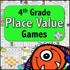 Place Value Games for 4th Grade - Games 4 Gains  - 1