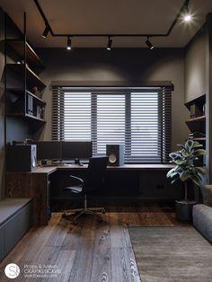 Small room design – Home Decor Interior Designs Home Studio Setup, Home Office Setup, Home Office Space, Desk Setup, Office Ideas, Small Room Design, Home Room Design, Design Homes, Design Bedroom