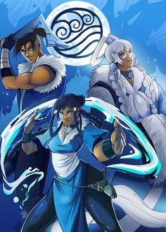 The Last Airbender - Water  -by Jocelynada