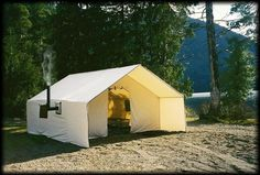 Wall Tents Make Great Family Tents