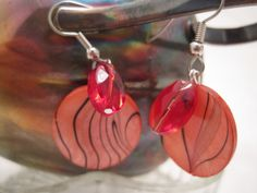 Social Magic Promotion Treasury -Gooses Golden Eggs - Earrings by Dawn Muir-Frost on Etsy