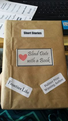 Blind date with a book <3