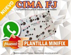 plantilla minifix para muebles