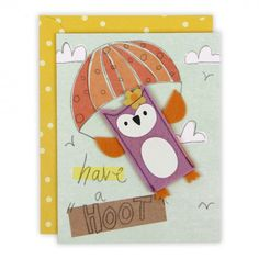 Owl have a hoot card