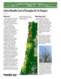 Swiss needle cast of Douglas-fir in Oregon, by the Oregon State University Extension Service