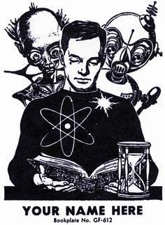 klappersacks:        Bookplate, 1959 by paul.malon on Flickr.