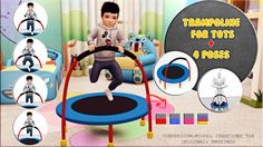 Miguel Creations TS4: Trampoline for Tots + Pose pack