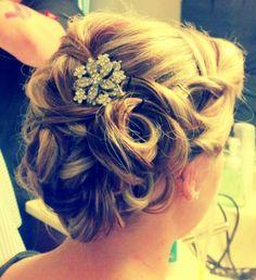Wedding hair by me