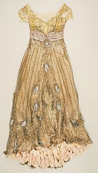 Art Object | The Metropolitan Museum Mobile Designer: Jacques Doucet (French, Paris 1853–1929 Paris) Date: 1907–8 Culture: French Medium: silk Dimensions: Length at CB: 62 in. (157.5 cm) Length at CF: 52 in. (132.1 cm) Waist: 24 in. (61 cm) Width at Bottom: 180 in. (457.2 cm) Other (bust): 32 in. (81.3 cm) Credit Line: Gift of Orme Wilson and R. Thornton Wilson, in memory of their mother, Mrs. Caroline Schermerhorn Astor Wilson, 1949 Accession Number: 49.3.20