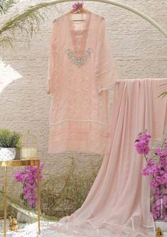 Powder Pink, Color Powder, Thing 1, My Sewing Room, Bridesmaid Dresses, Wedding Dresses, Pink Fabric, Indian Wear, 1 Piece