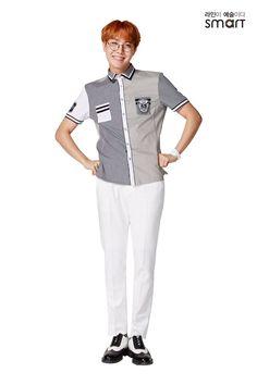 Smart×Bts j hope 3 Bts School, Smart School, School Boy, Jung Hoseok, Rapper, Boys Uniforms, Jungkook V, Taehyung, Bts Concept Photo
