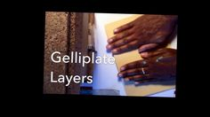 Gelliplate Layers by Robyn McClendon - Today I was working in the studio on layers…creating a rich depth of color and texture in my work…  One of my favorite tools for this, believe it or not is the Gelliplate…