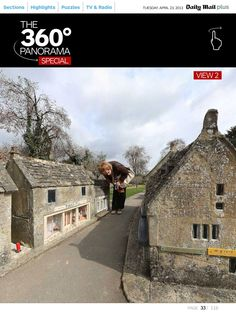 Bourton on the Water model village 360 panorama special - Mail Plus iPad app by Jon Rowley