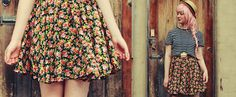 Making your own clothes is the best! ANNIKA VICTORIA shows you how (with a little patience) you can make your own pretty circle skirt for summer.