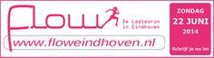FLOW ladiesrun Eindhoven op 22 juni 2014.