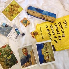 ohgabii:bought some cute stuffs from the Vincent Van Gogh Museum in Amsterdam. - To Beauty Vincent Van Gogh, Van Gogh Museum, Arte Van Gogh, Van Gogh Art, Art Hoe Aesthetic, Indie, Happy Colors, Mellow Yellow, Art For Kids