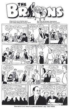 The Broons comic strip